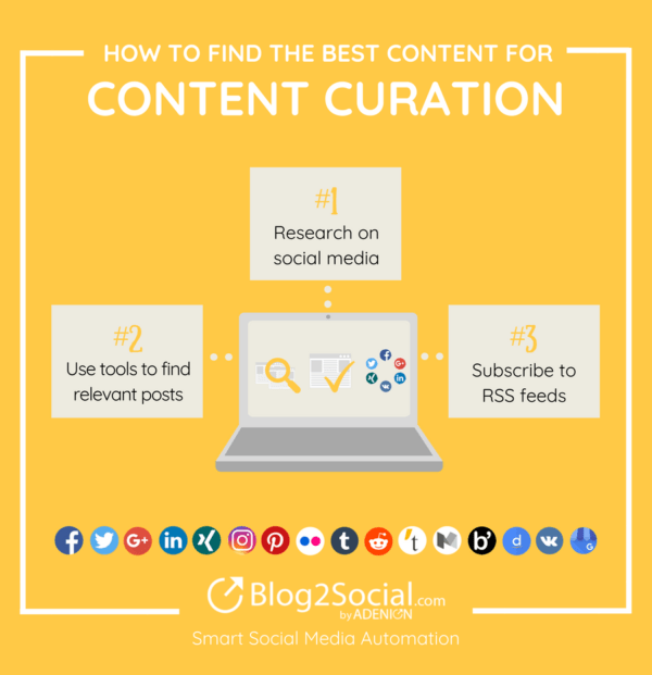 How to find the best content for your content curation strategy