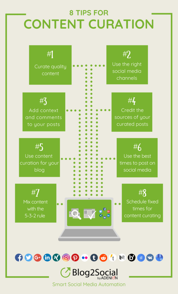 8 Tips for Content Curation