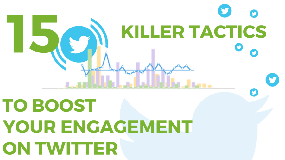 15 killer tactics to boost your engagement on Twitter and promote your content efficiently
