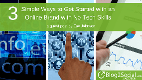3 simple ways to get started with an online brandd with no tech skills