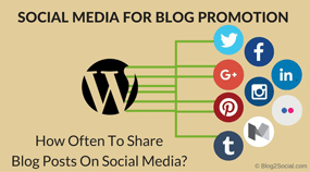 How often to share your blog post