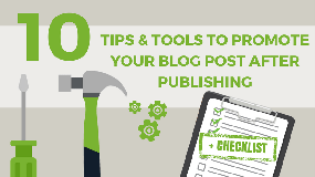 10 tips & tools to promote your blog post