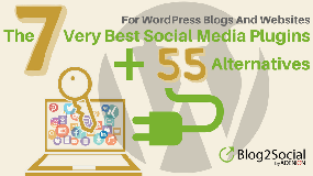 The 7 very best social media plugins + 55 alternatives