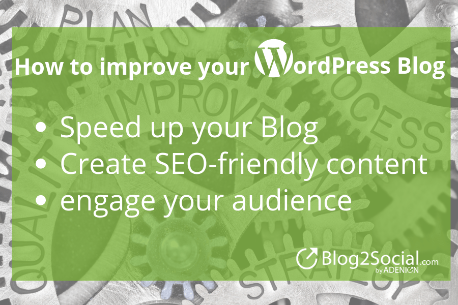 infographic: 3 simple tips to improve your wordpress blog
