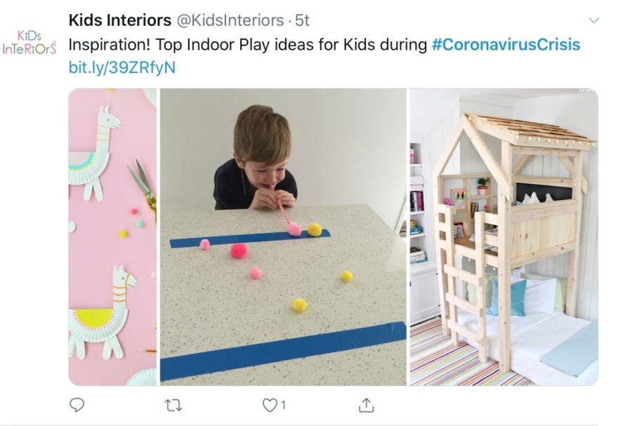 Kids interior shares inspiration to entertain kids with indoor activities