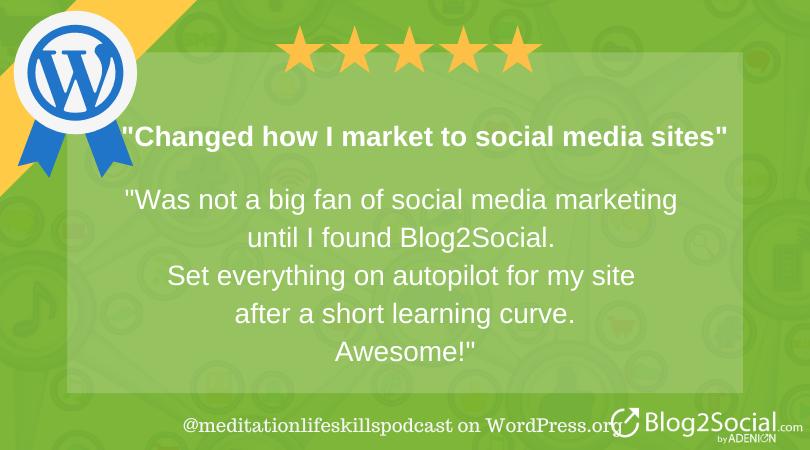 I was not a big fan of social media marketing until I found Blog2Social.