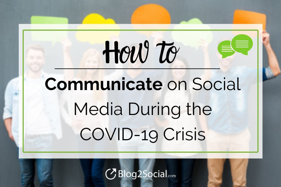 How to communicate on social media during crisis