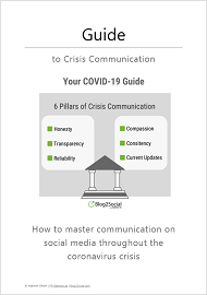 COVID-19 Guide to crisis communication