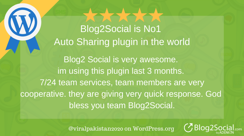 Blog2social review: Blog2Social is the best autosharing plugin in the world