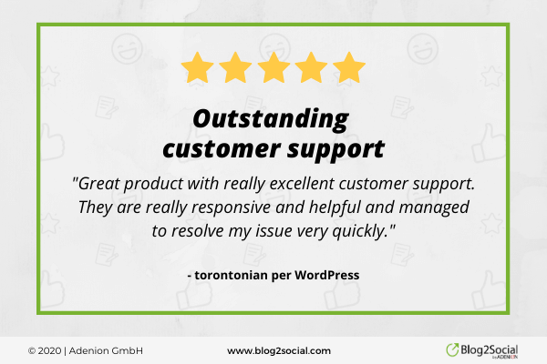 outstanding customer support - great product with really excellent customer support. They are really responsive and helpful and managed to resolve my issue very quickly.