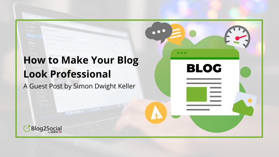 In this blog post you will find some tips and tricks to makre your blog professional.