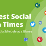 The Best Social Media Times - Your Social Media Schedule at a Glance