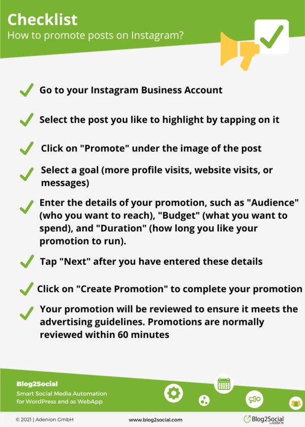 How to promote posts on Instagram?