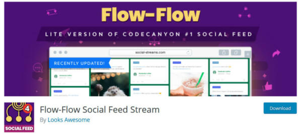 Flow Social Feed Stream Plugin