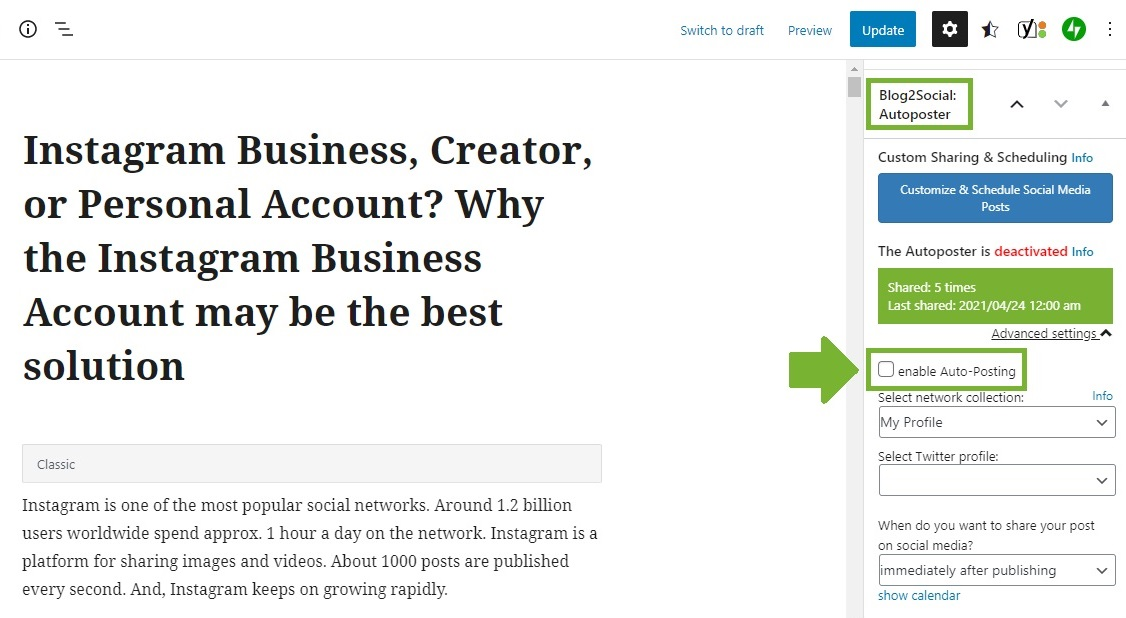 Blog2Social-activate-Auto-Posting-manually