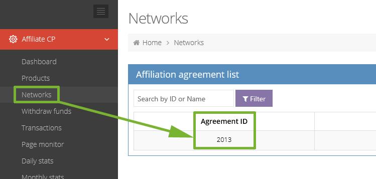How do I get my affiliate link?