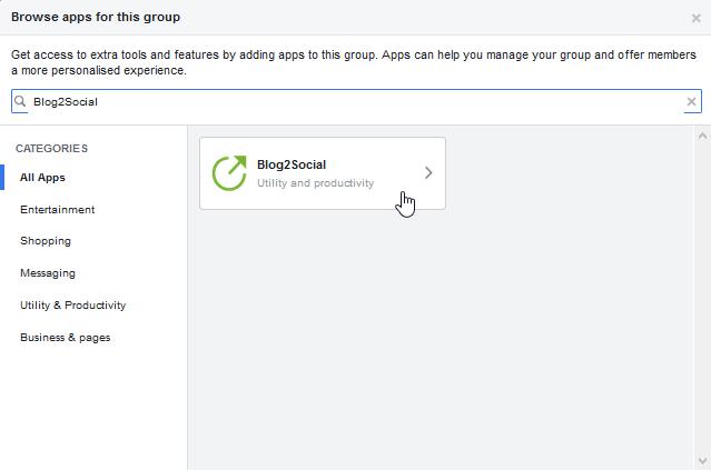 facebook group settings 3 Como agregar autopublicador en tu grupo de facebook