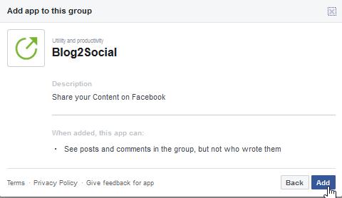 facebook group settings 4 Como agregar autopublicador en tu grupo de facebook