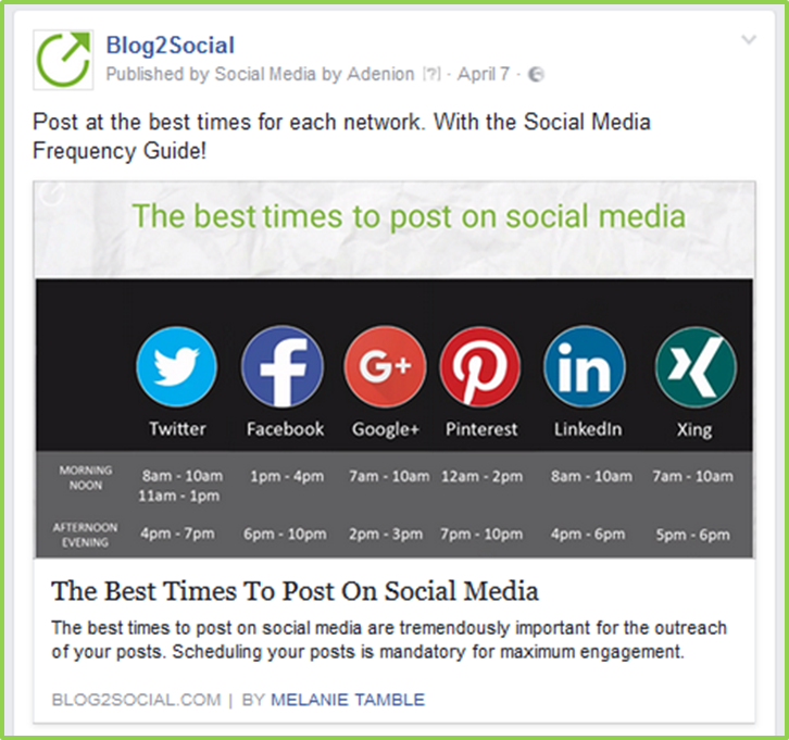 How to share link posts to Facebook profiles, pages and groups